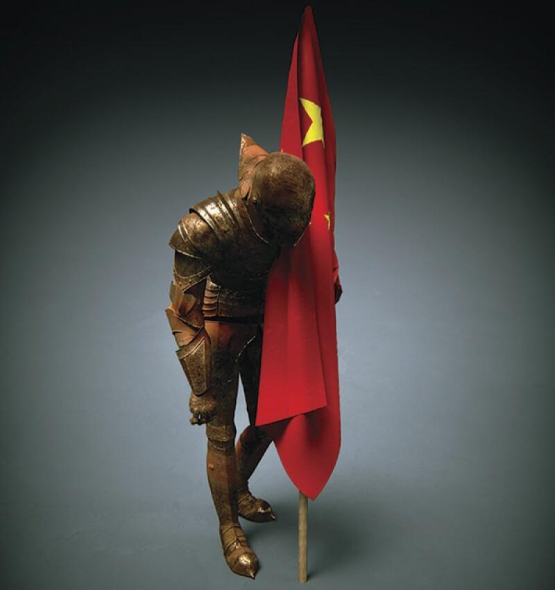 China Rusty Knight-600