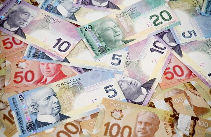 Canada dollars