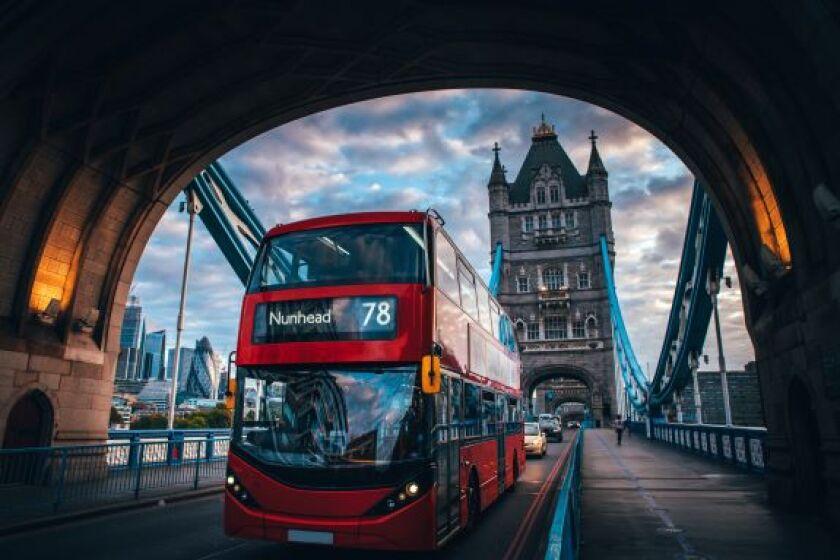 Bus Tower Bridge Adobe