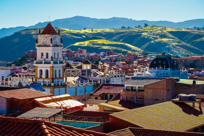 Sucre, Bolivia, LatAm, Andes, pueblo, 575