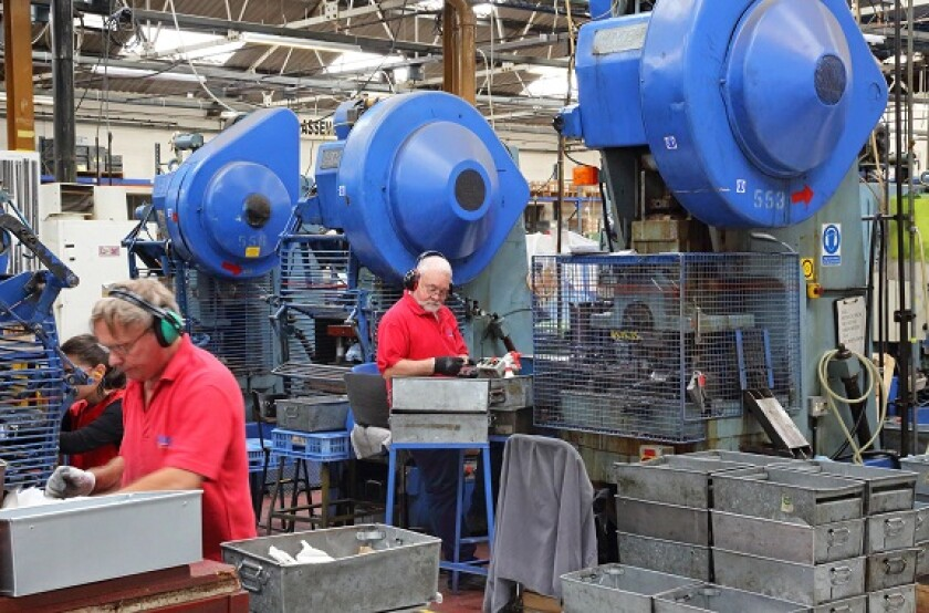 Factory manufacturing metalwork from Alamy 28Sep21 575x375