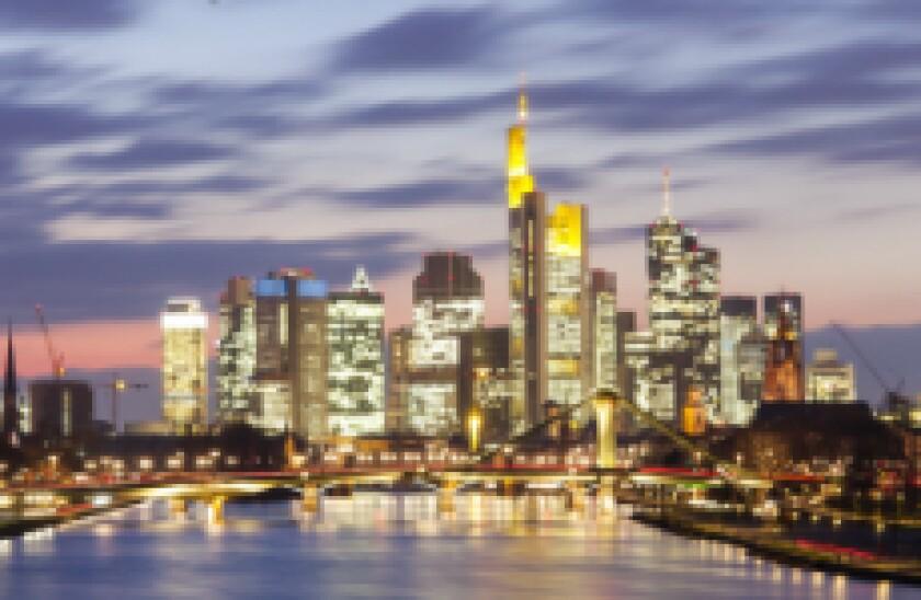 Frankfurt night fotolia