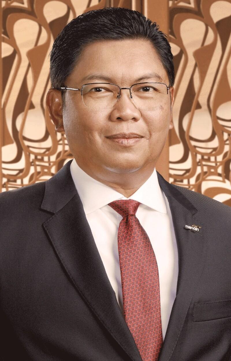 Darmawan Junaidi, Bank Mandiri.jpg
