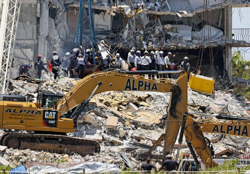 Miami condo collapse 27 june