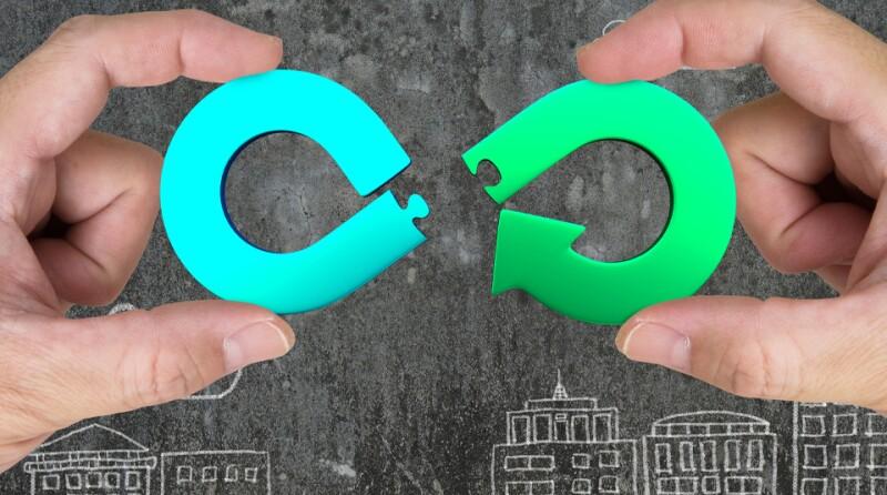 Circular economy concept.