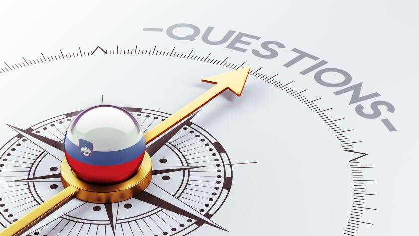 Slovenia High Resolution Questions Concept