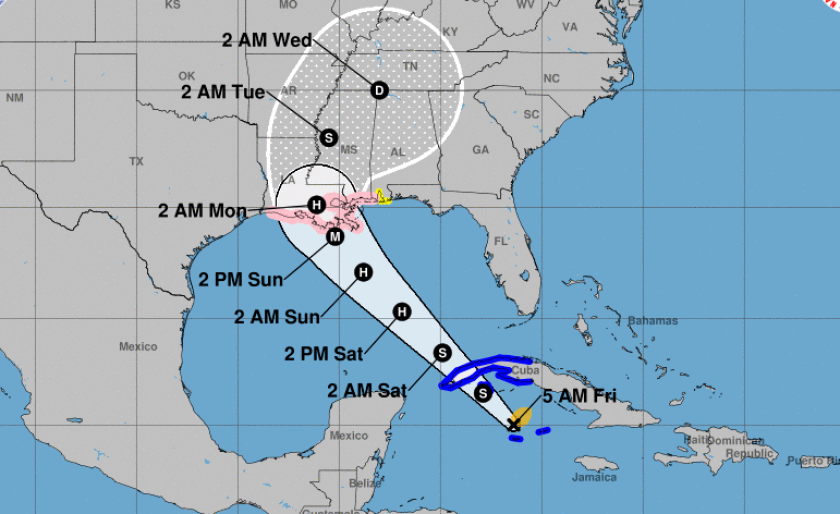 NHC_Ida_map_track_midday_UK_August_27_2021.png