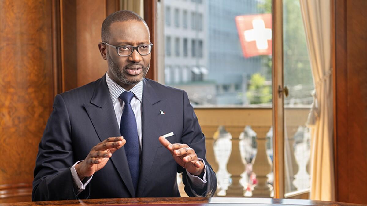 Euromoney The CEO agenda: Tidjane Thiam, Credit Suisse