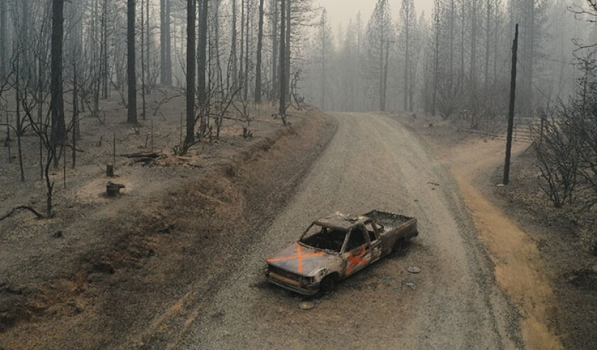 California Wildfires 2020: Bear Fire