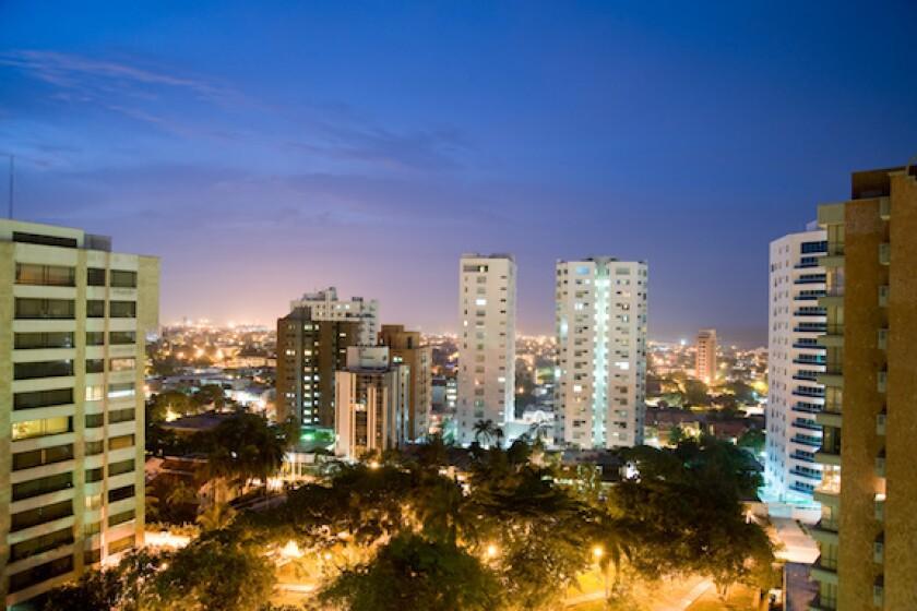 Barranquilla, Atlantico, Colombia, Caribbean, high rise, IADB, LatAm