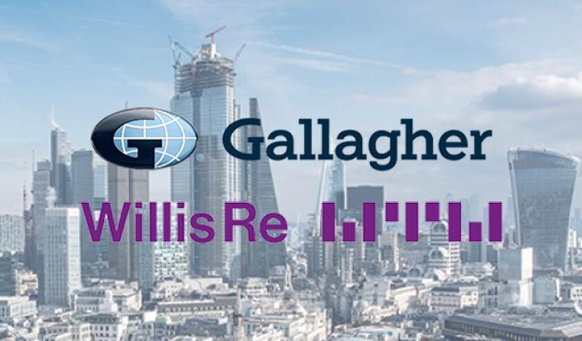 Gallagher Willis Re logos London.jpg