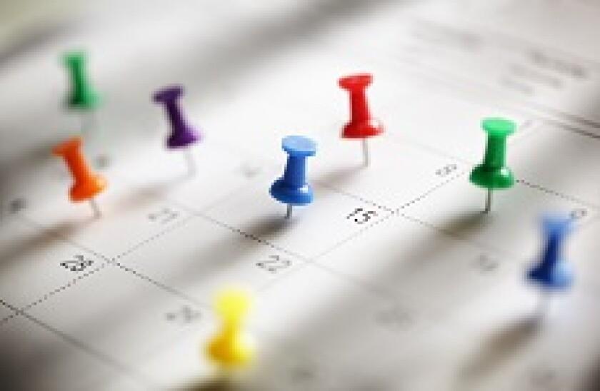 Calendar pushpins 230x150