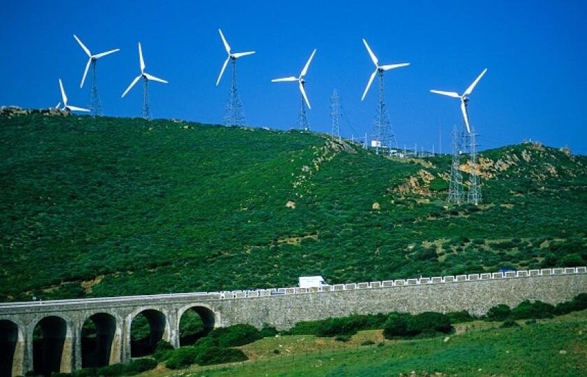 Acciona Energia wind farm Spain Alamy 30Sep21