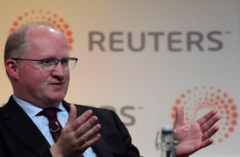 Philip Lane, Governor of the Central Bank of Ireland speaks at a Reuters Newsmaker event in London, Britain October 28, 2016.  REUTERS/Toby Melville