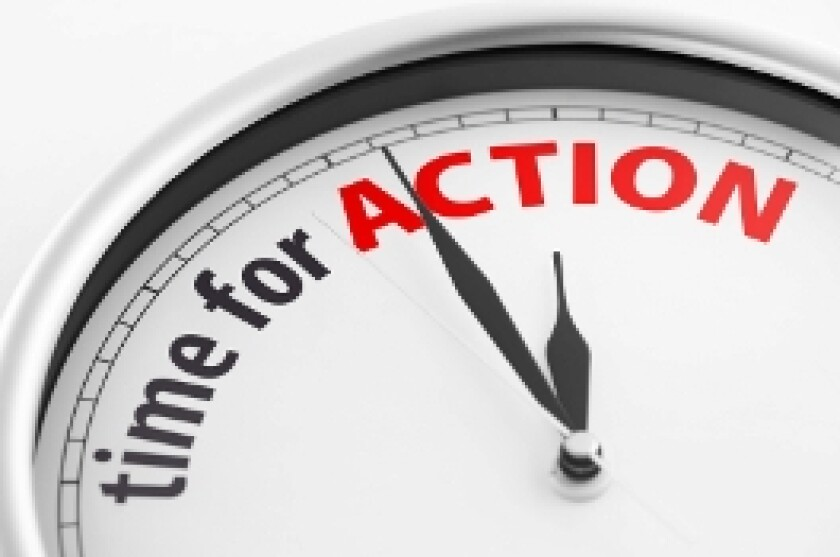 Action (time for)