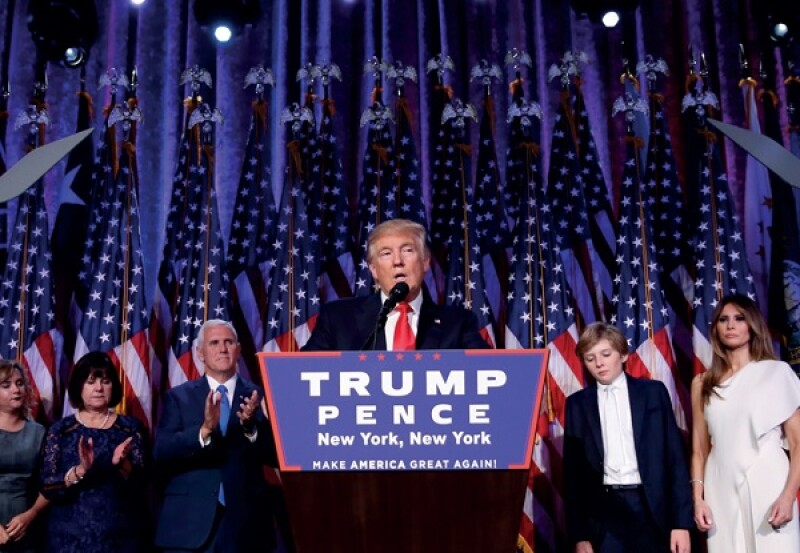 Trump victory speech 600