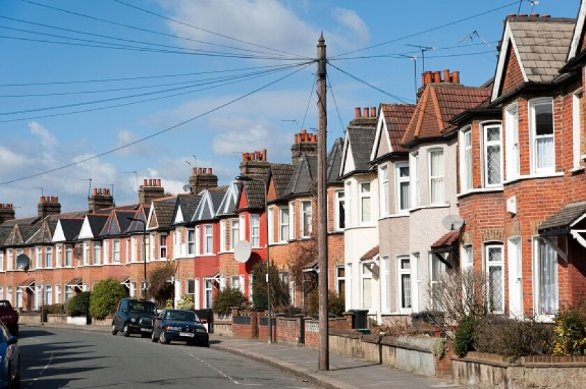 Housing London UK from Alamy 2Sep21 575x375