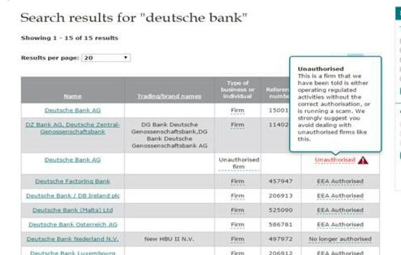 real deutsche bank