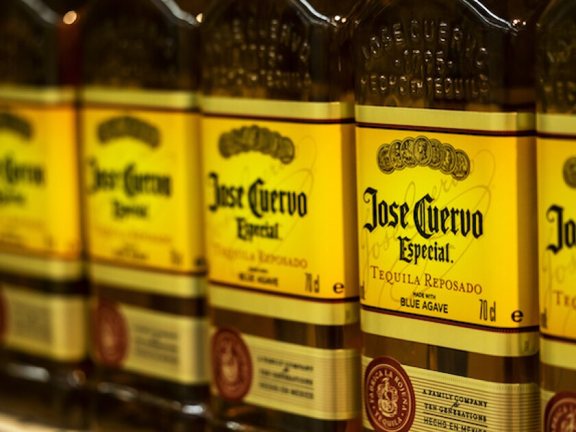 Jose Cuervo, tequila, Mexico, agave, LatAm, Becle, 575, drink, spirits