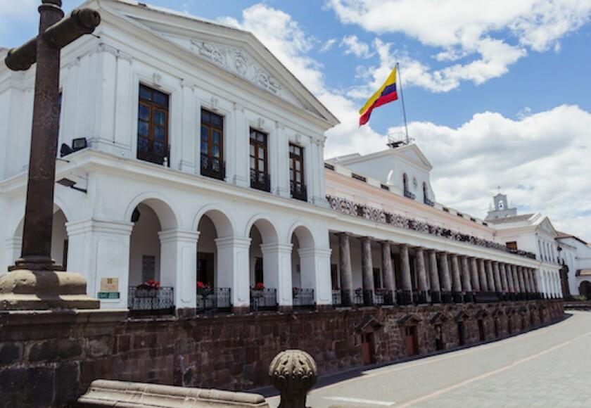 Ecuador, Quito, Palacio de Carondelet, presidential palace, president, Lenin Moreno, LatAm, 575