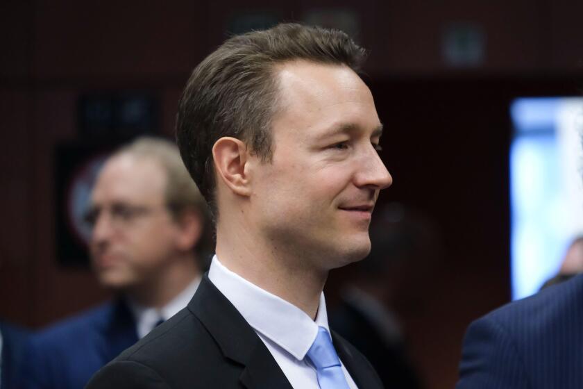 Austria's finance minister, Gernot Blümel
