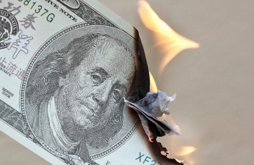 Pixabay burning money 575x375