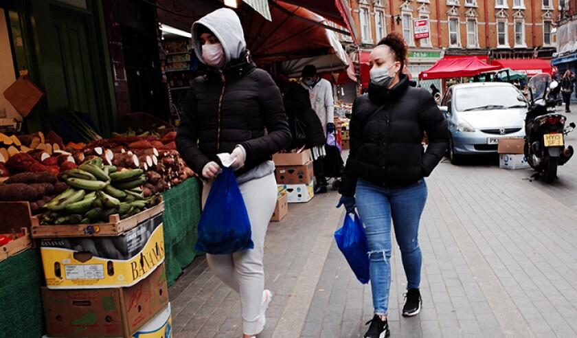 Coronavirus Pandemic In London