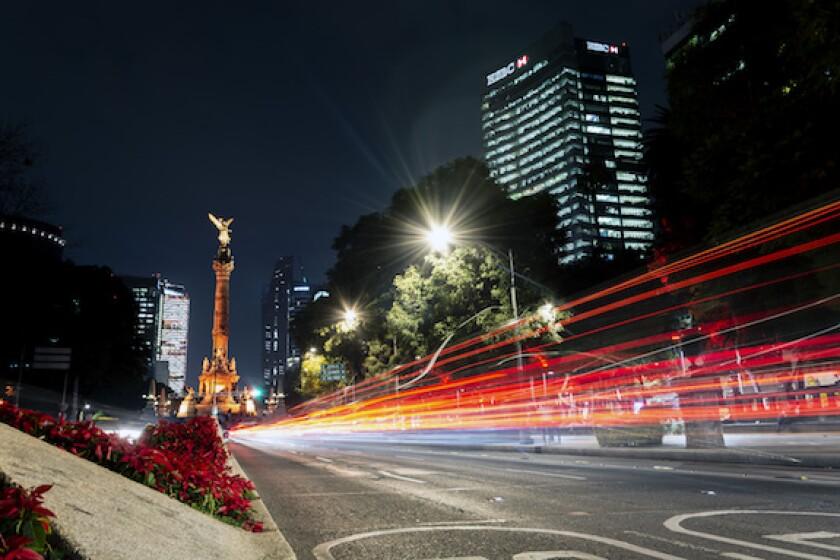 Mexico, Mexico City, LatAm, Angel de la independencia, HSBC, Reforma, 575