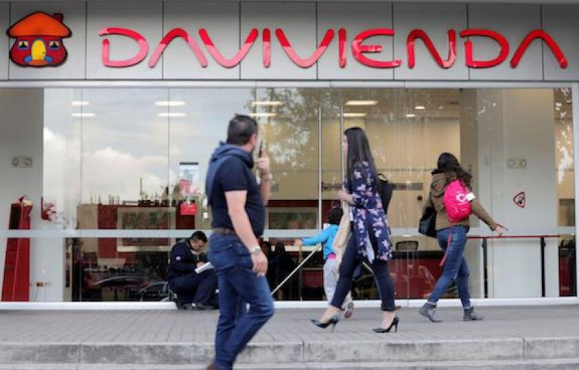 Davivienda, Banco, LatAm, Bogota, Colombia, banks, 575