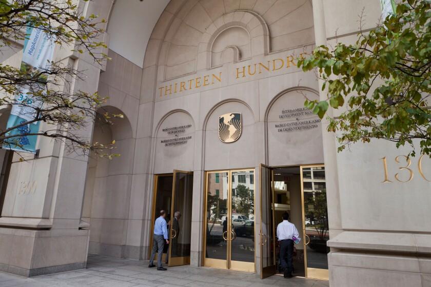 Inter-American Development Bank building - Washington, DC, USA