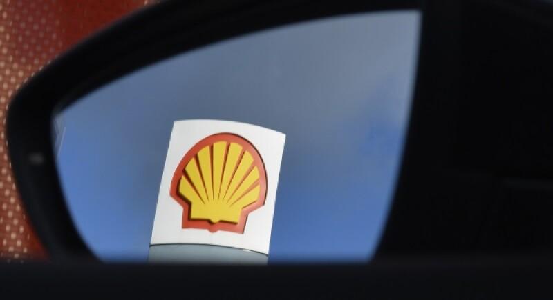 Shell logo mirror-R-600