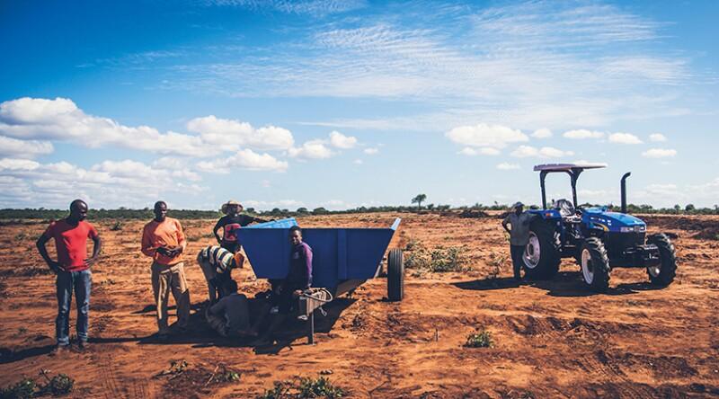Community farming at Karingani_780