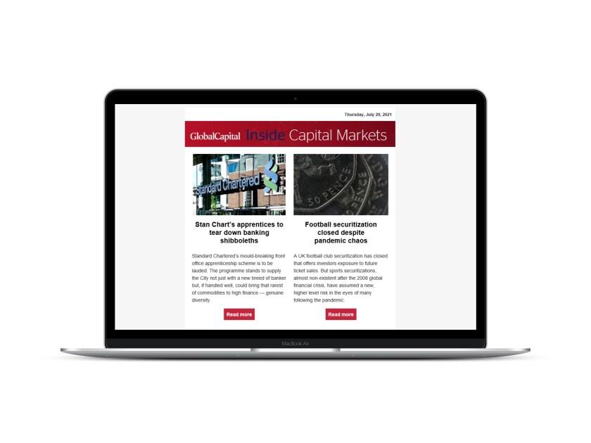 Inside Capital Markets Newsletter