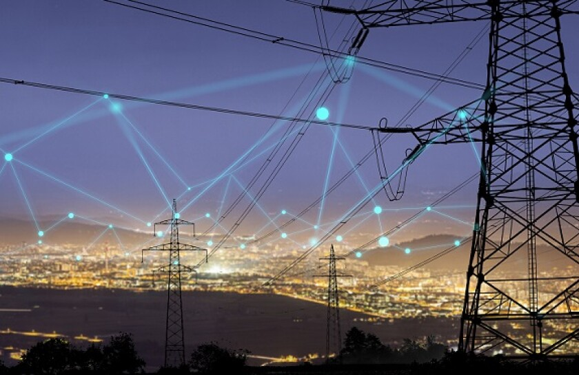 Electricity power grid green network from Adobe 6May20 575x375