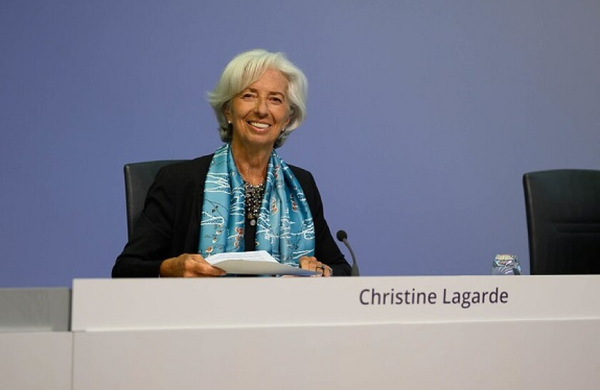 christine Lagarde from ECB flickr 575x375