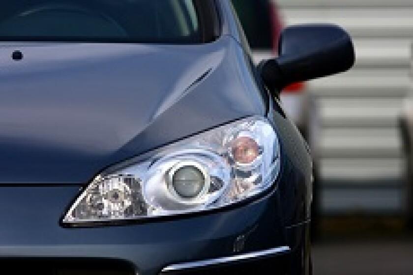 Peugeot Citroen car headlight from Fotolia 230x150