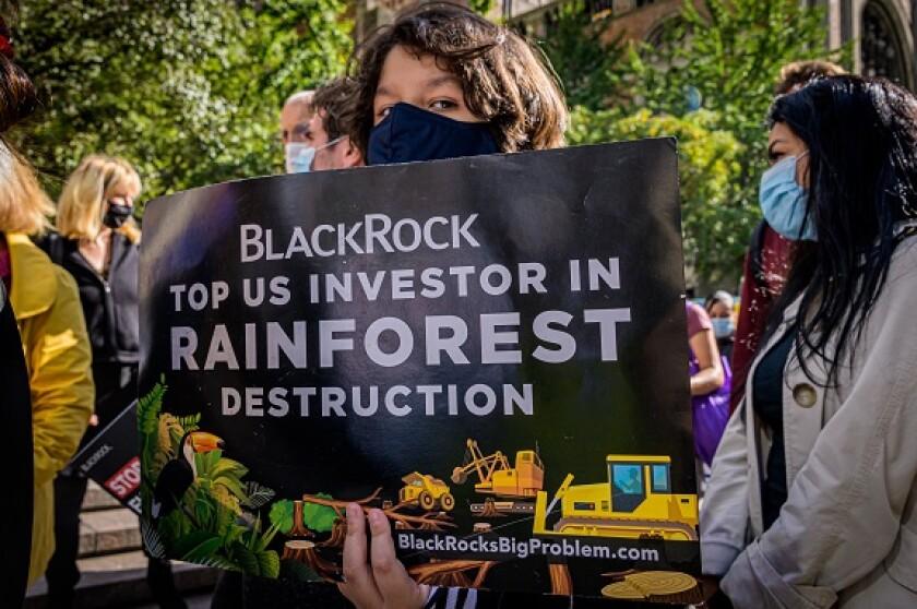 BlackRock protest 2020 Amazon rainforest climate from PA 12Jan21 575x375