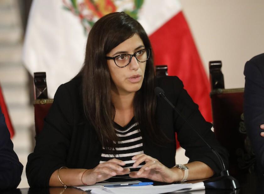 Maria Antonieta Alva, Peru, Toni, finance minister, LatAm, stimulus, coronavirus, 575, minfin