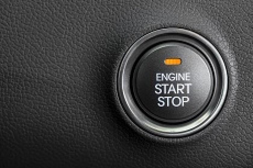 Car Start-Stop Button
