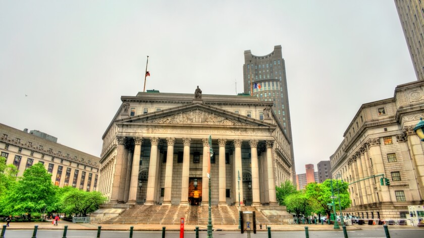 The New York State Supreme Court Building