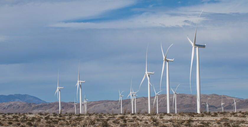 Mexico, La Rumorosa, Baja California, LAtAm, 575, wind power, wind farm, electricity, IENova, Mexico