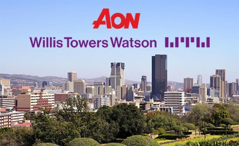 Aon Willis Pretoria, South Africa skyline.jpg