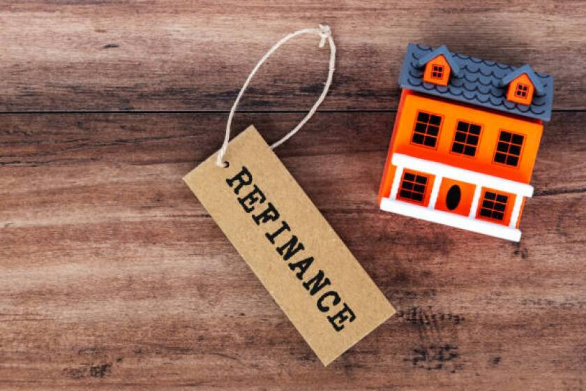 Refinance text on label tag
