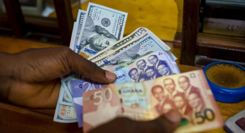 Ghana bank notes-R-600