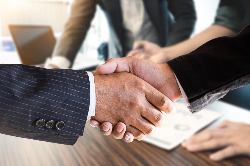 Acquisition Hand shake