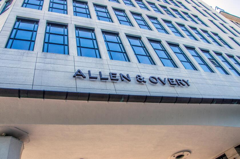 Detail Of The The Allen & Overy LLP Building At Amsterdam The Netherlands 2018
