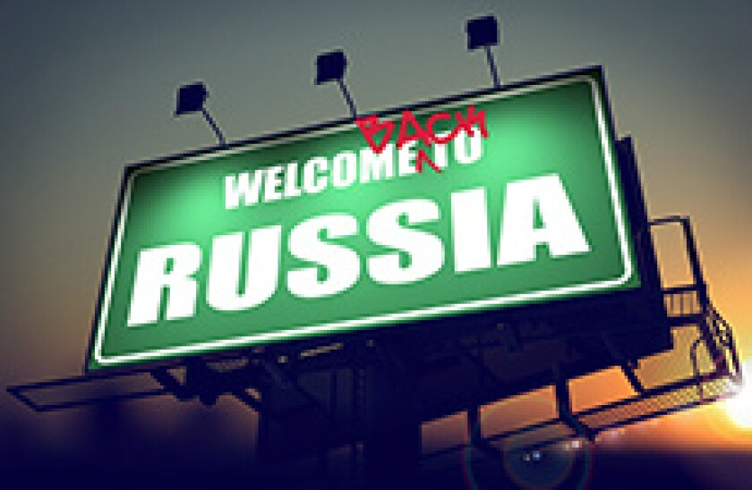 Russia welcome back 230x150