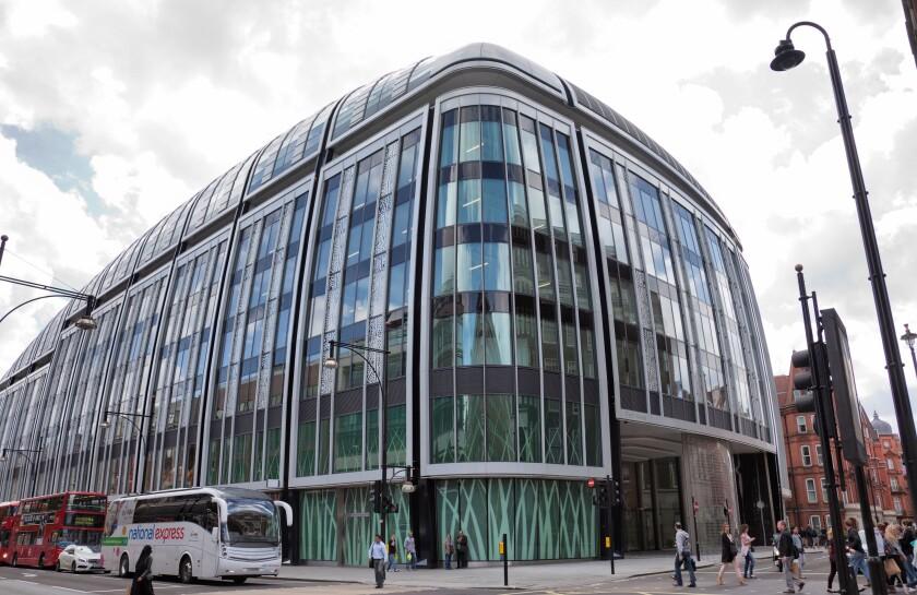 Park House Building on Oxford Street Junction - London UK