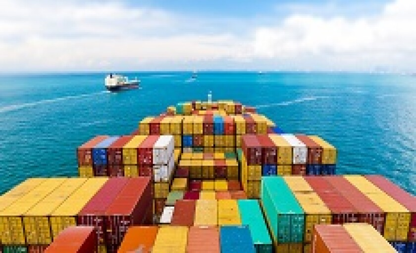 Trade shipping container ship sea from Adobe 230x150