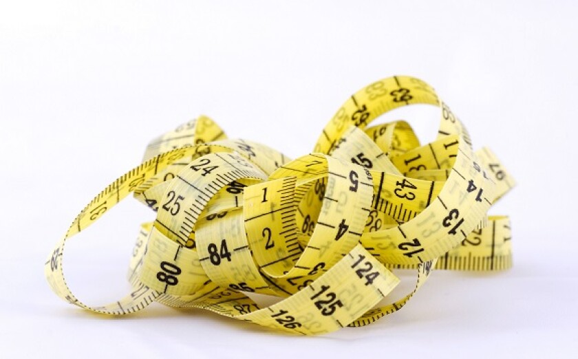 Tape measure tangle from Alamy 30Apr21 575x375